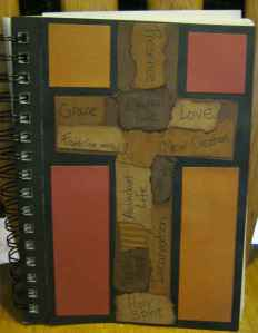 This is my prayer journal from the Holy Spaces retreat.