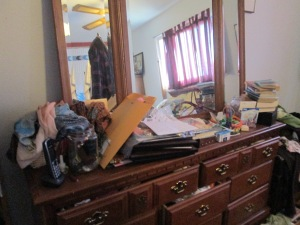 My dresser--Before