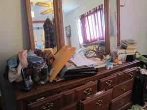 My dresser--Before