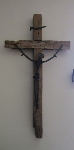 Crucifix at Southside Presbyterian Church in Tucson, Arizona.