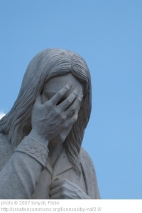 This is the image I have of Jesus reading Driscoll's latest post.