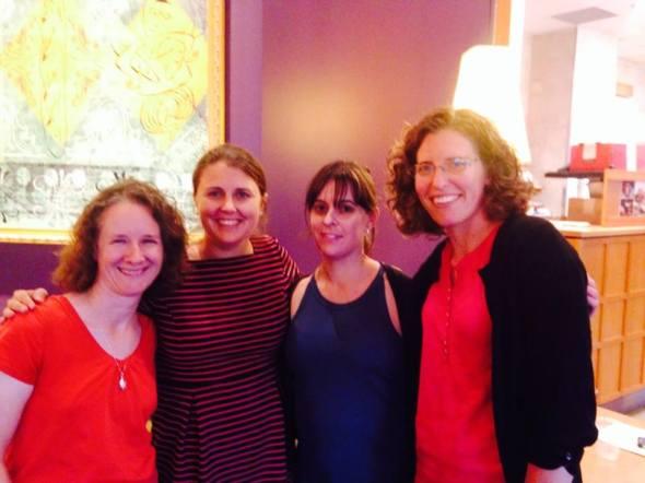 Me, Ruth Harder, Stephanie Krehbiel, and Sarah Klaassen