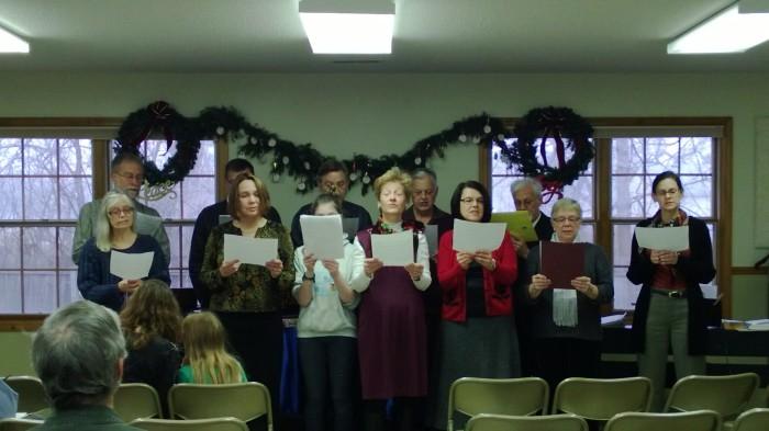 christmas choir 2012
