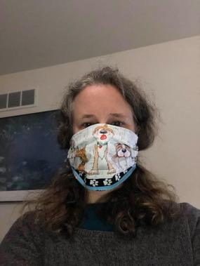 me in mask